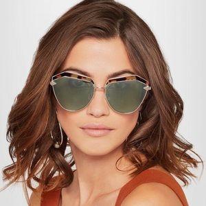 Karen Walker Pink Jacinto Sunglasses